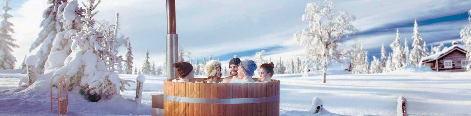 Home » Bad & Sauna » Finnische Badetonne, Badezuber, Badefass » Kirami Comfort Badefässer Coz