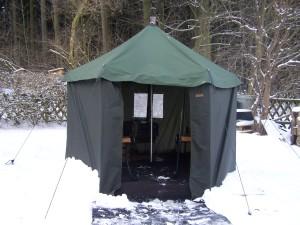 Vermietung Zeltsauna / Saunazelt
