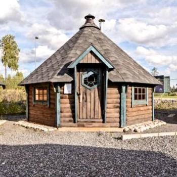 SaunaKota / Saunahütte / Kombi Grill & Sauna