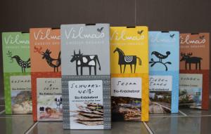 Vilmas Knäcke-Cracker - Knäckebrot aus Schweden aus besten natürlich angebauten Zutaten.