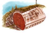Erdkeller aus Bausatz oder zum selber bauen