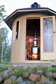 Saunatonne / Saunafass 3 verschiedene Varianten- Das beste Dampferlebnis für zu Hause-