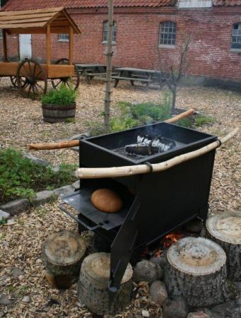 Mittelalter - Wikinger Ofen