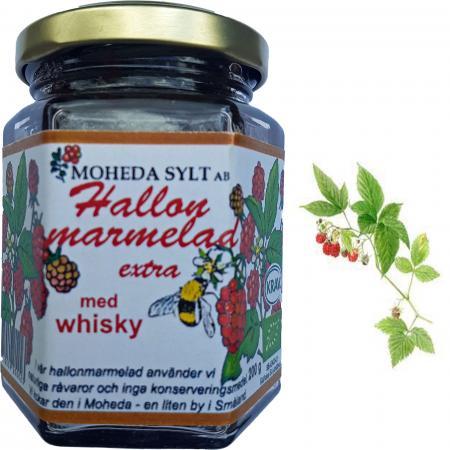 Moheda Himbeer-Konfitüre mit Whisky 200g