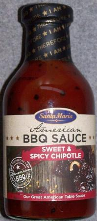 American BBQ Sauce Sweet & Spicy Chipotle