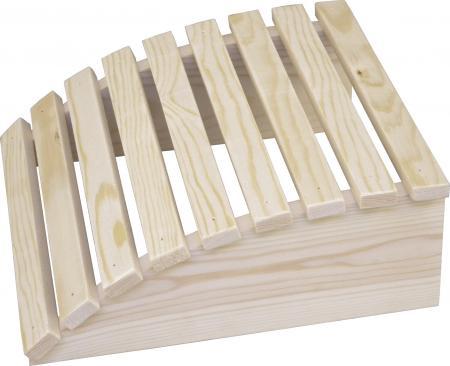 Sauna Kopfstütze aus Holz