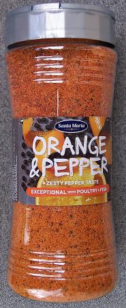 Orange & Pepper 300g