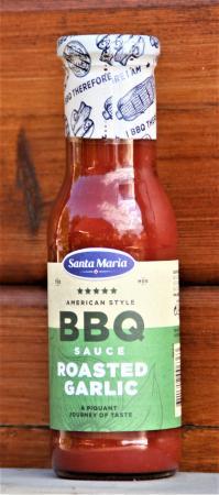 BBQ Sauce Roasted Garlic 335g