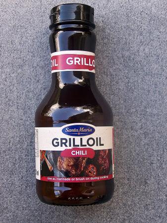 """Grill Öl Chili von """"Santa Maria"""""""
