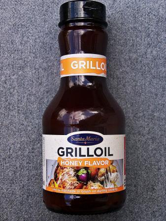 """Grill Öl Honig Geschmack von """"Santa Maria"""""""
