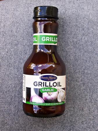 """Grill Öl Knoblauch von """"Santa Maria"""""""